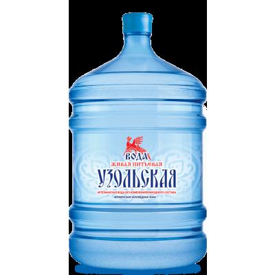 """Вода """"Узольская Любима"""""""